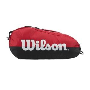 Raqueteira Wilson Team Vermelha e Preta