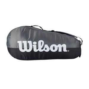 Raqueteira Wilson Team Cinza e Preta X3