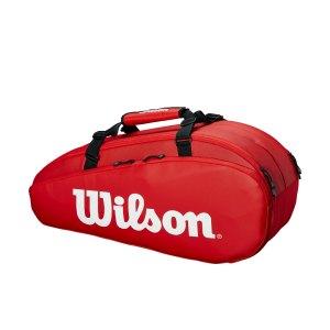 Raqueteira Wilson Tour X9 Vermelha