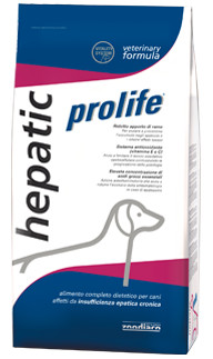 Crocchette Hepatic Prolife Vet formula