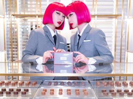 Thom Browne Chocolate Shop In Tokyo