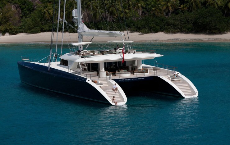 Hemisphere Yacht For Charter Indian Ocean & South East Asia