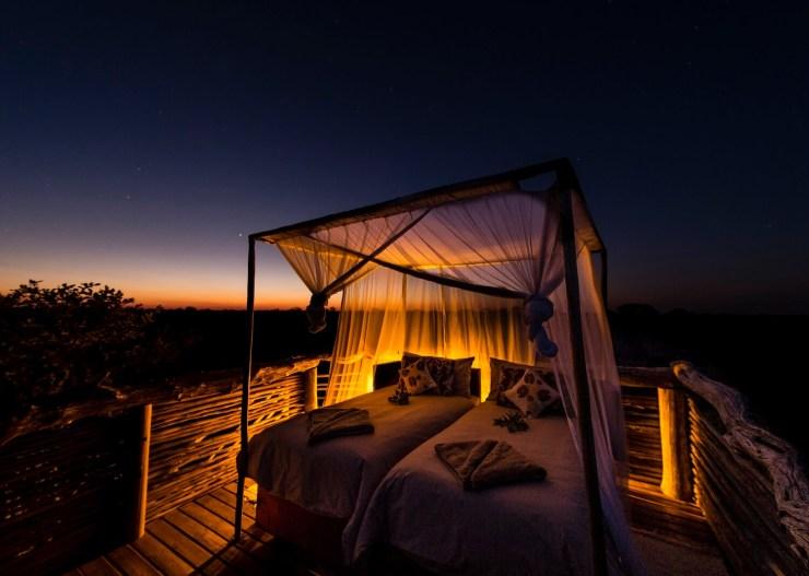 Skybeds_Camp Suite Okavango Delta