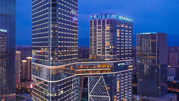 Grand Hyatt Xi'an Hotel China-Within the Reach of the Business Center