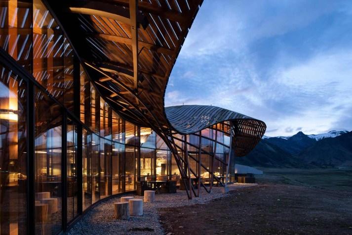 Luxury Lodge the Lindis Ahuriri Valley New Zealand