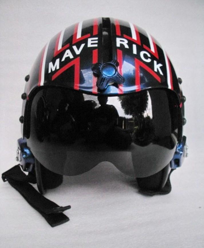 Top Gun Movie Helmet- On Auction