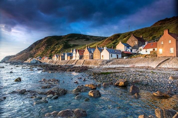 Crovie Aberdeenshire Scotland