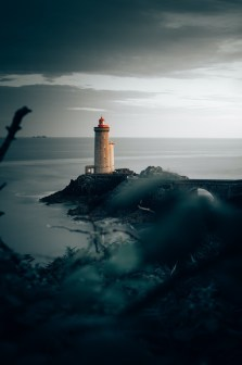 France- The Lighthouse and the Medieval Castle