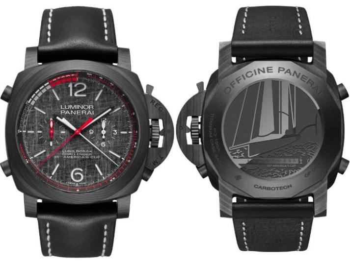 PANERAI LUMINOR LUNA ROSSA GMT WATCH