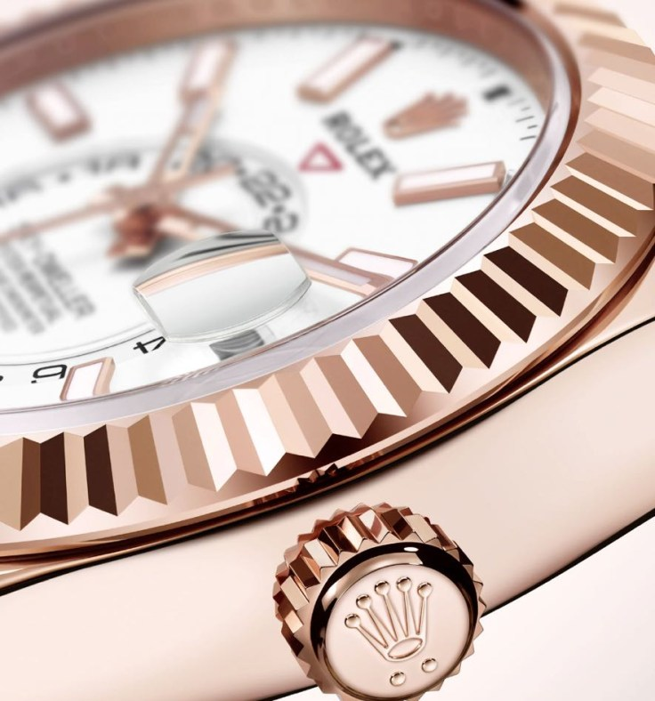 The Oyster Perpetual Sky-Dweller Luxury Upgrade