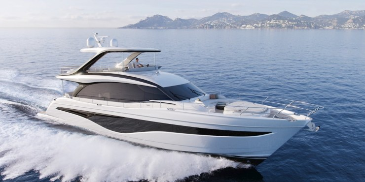 Princess Yachts launched the new Y72