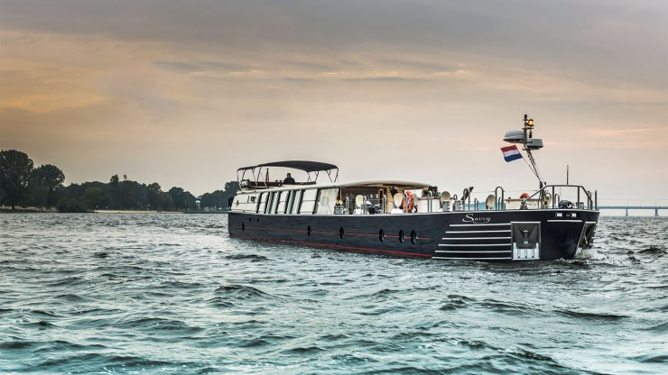 Savvy: The Bespoke Boat Bringing Luxury of the Oceans to European Rivers