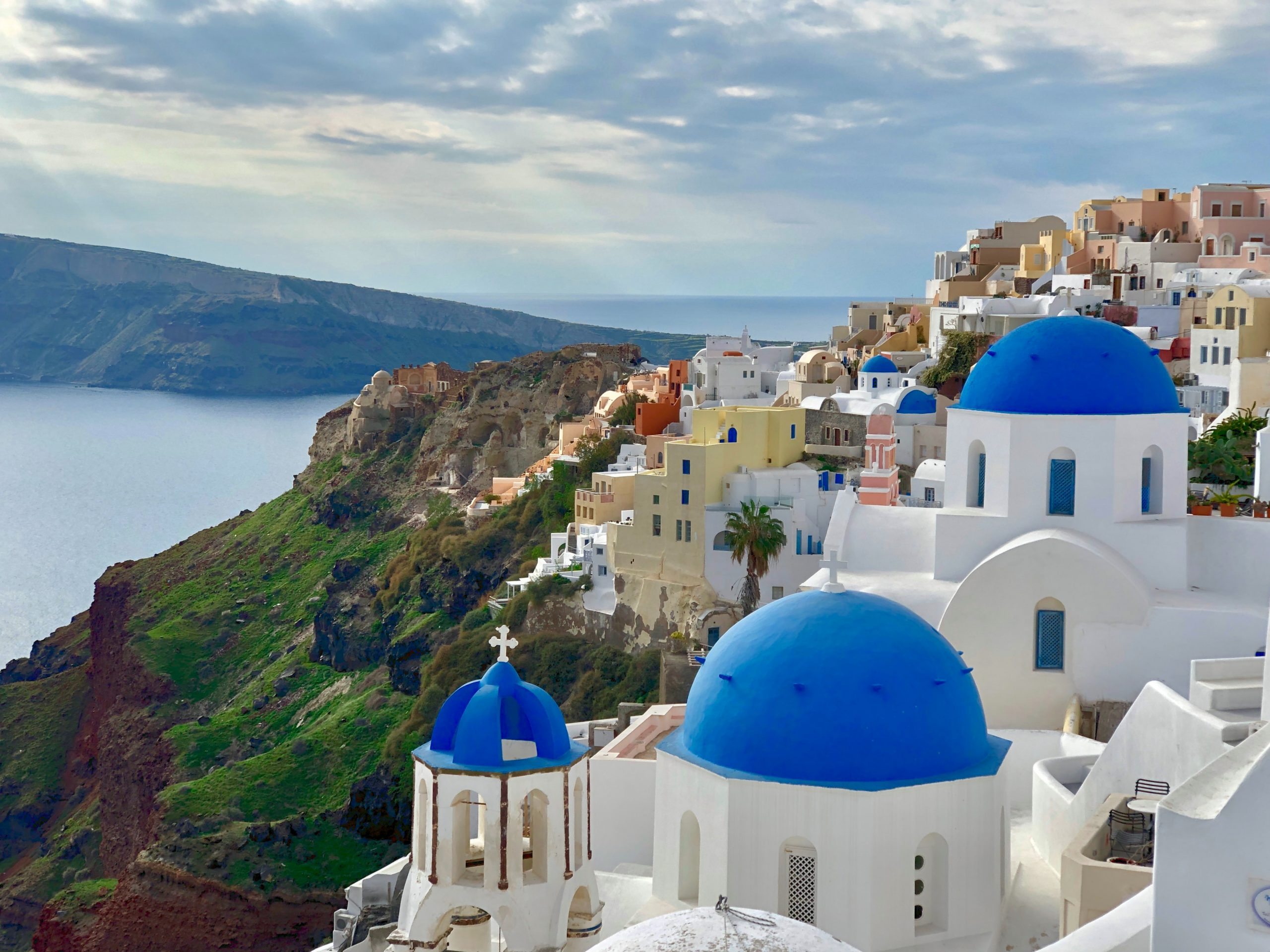 Santorini-A Waterfilled Crescent