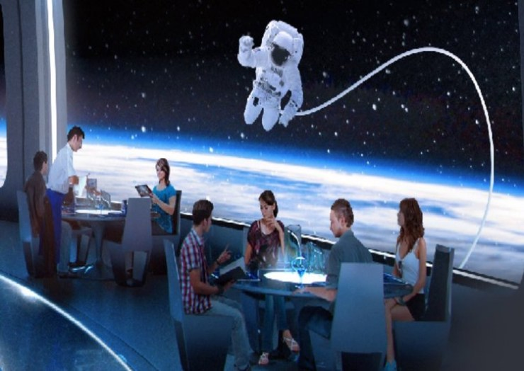 Space 220 Restaurant- Enjoy the Earth from Above