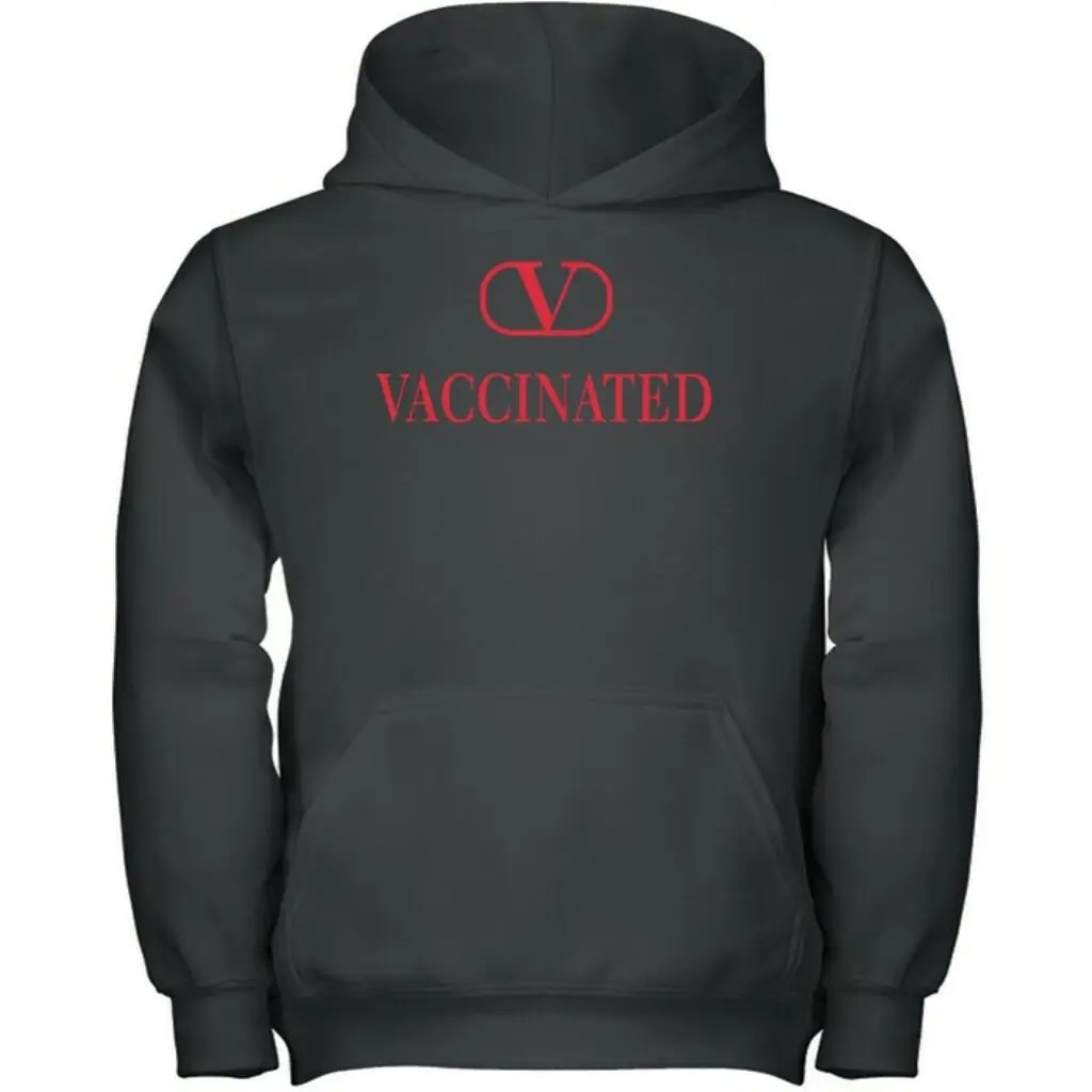 Valentino Supports Vaccination Efforts-New Exclusive Hoodie