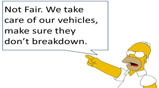 taxis might not break down so frequently