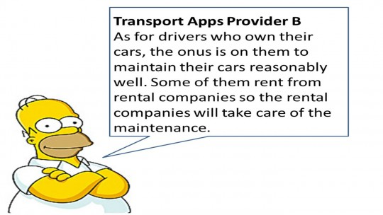 Not true. Some owners maintain their cars better than public transport