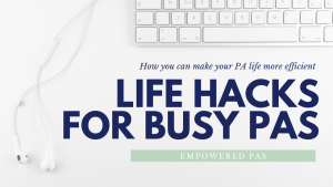 Life Hacks for Busy Physician Assistants