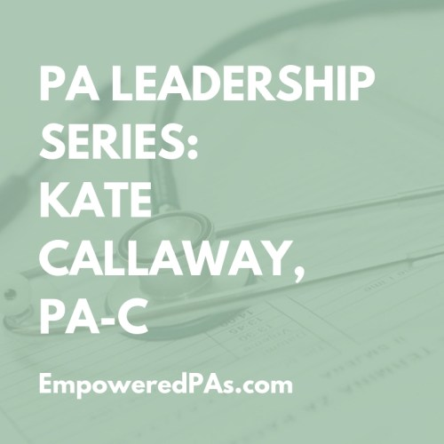 PA Leadership Kate CallawayPA Leadership Kate Callaway