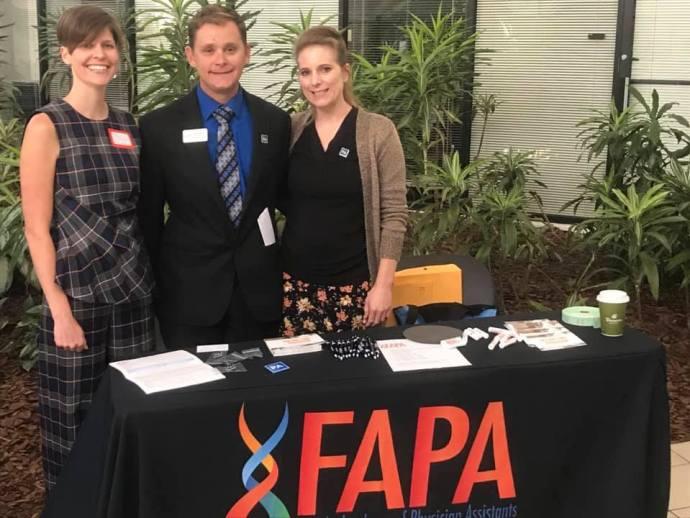 Florida Academy of PAs, Jason Berger