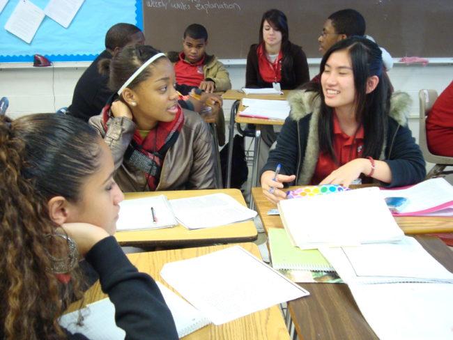 Classroom discussing in reading sex teacher