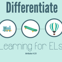 Differentiate Learning for ELs with Bloom's Revised Taxonomy. ELL strategies