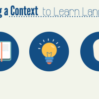 In content-based learning, use the content as the context to learn academic language