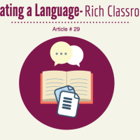 Talk Read Talk Write (TRTW) ELL Strategies, Creating a language rich strategy
