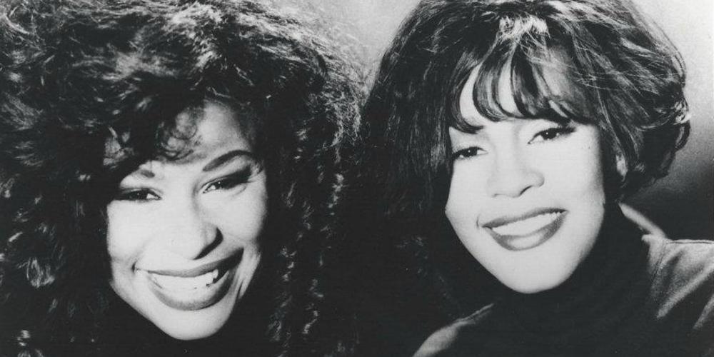 Chaka Khan and Whitney Houston