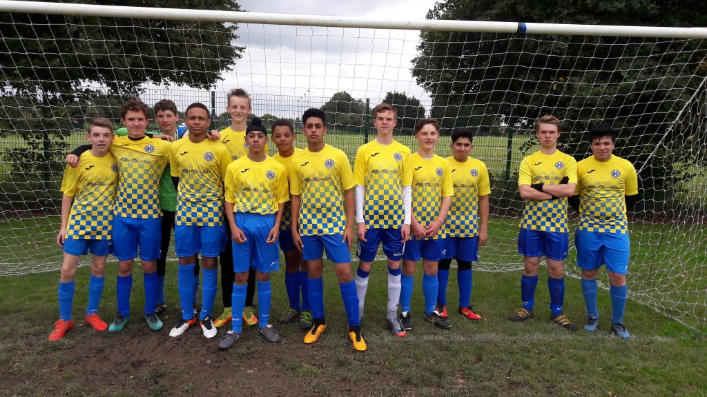 Phillips Creative sponsors of Bromley Heath U16