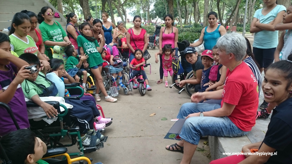 Playground accesibility test Santa Cruz de la Sierra – Bolivia