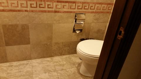 来客用トイレ
