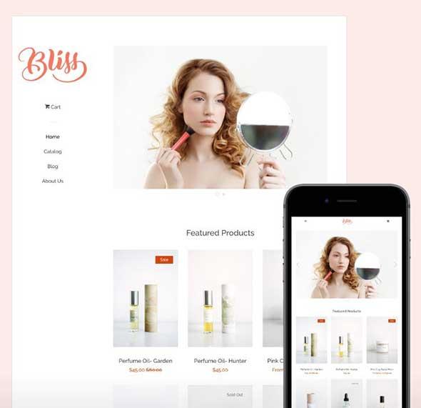 modelos de lojas virtuais pop theme shopify