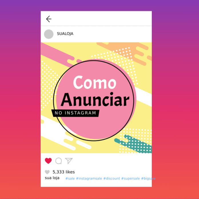 anunciar no instagram