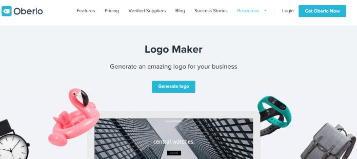 criar-logo-gratis-no-oberlo-logo-maker