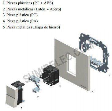 Instalación de mecanismos Niessen de Zenit