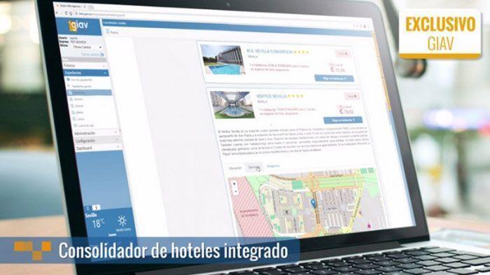 Consolidador de hoteles