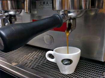 Temperatura del agua café