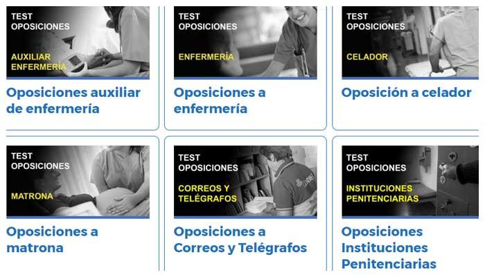 Test Oposiciones Online