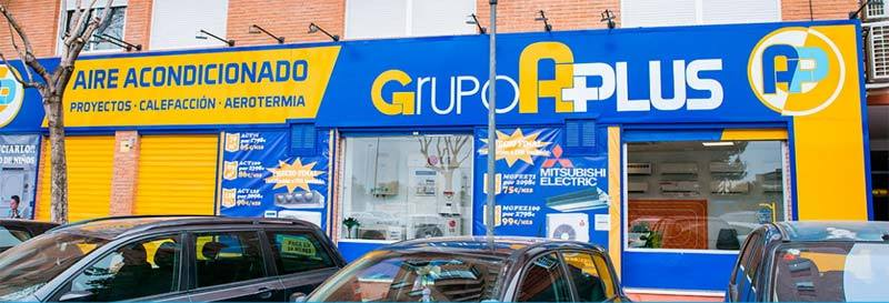 Grupo APlus tienda Elche