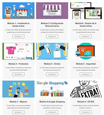 Curso crear tienda online