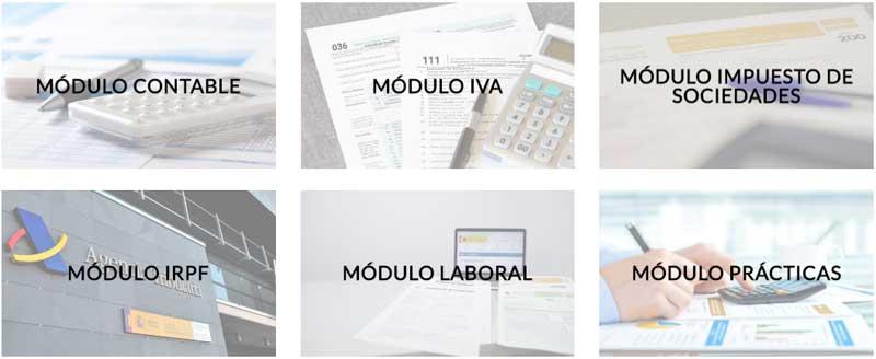 Curso fiscal laboral contable