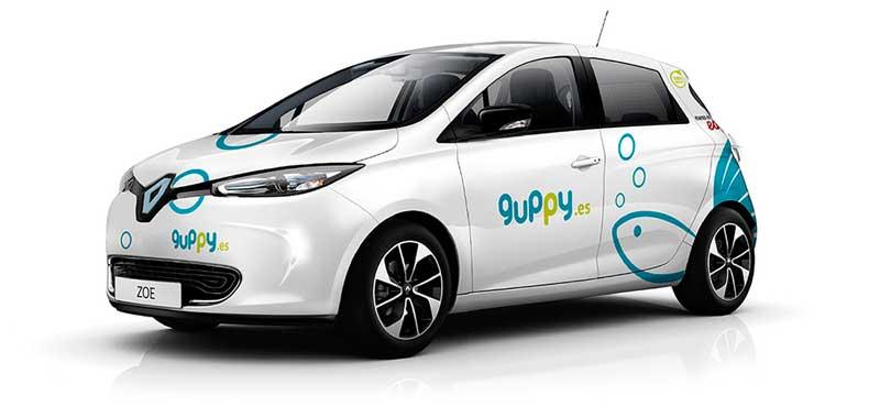 Guppy alquiler de coches emprendedores