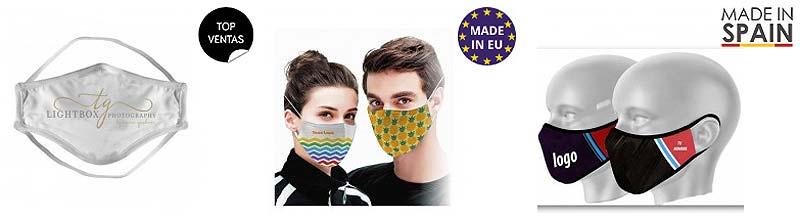 Máscaras faciales personalizadas