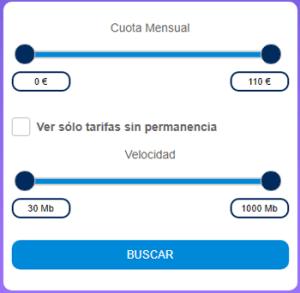 Comparador tarifas fibra móvil