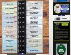 Variedades café máquinas vending