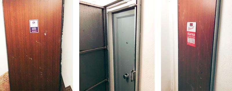 Alquiler de puertas antiokupa