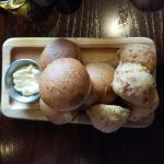 Poppy and cheddar rolls