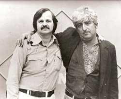 A.D. Winans & Jack Micheline in 1976.