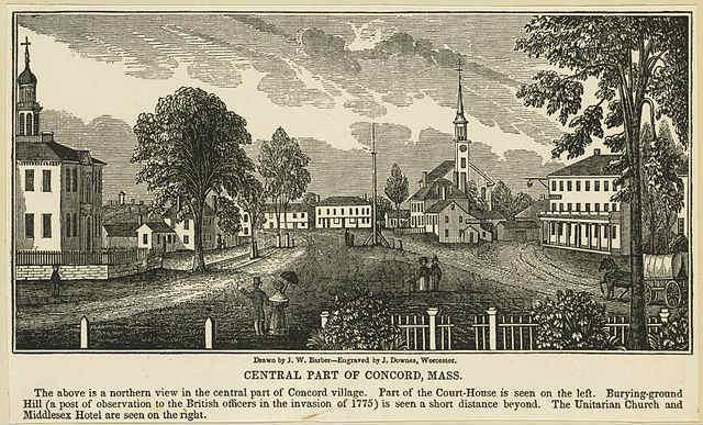 Concord, MA 1840s